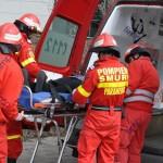 Tragedie la Nimigea de Jos. O maşină condusă de un jandarm, lovită de tren. Soţia lui a murit