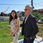 Maria, fiica deputatului Ioan Oltean, a început studenţia la Lausanne, în Elveţia (FOTO)