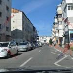 Lucrări DSP: oglindă rutieră pe str. CR Vivu, indicatoare, balustrade metalice pe trotuare