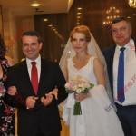 Nuntă de cinci stele în marele PNL! Cine a venit să-i felicite pe Ioan Turc şi pe soţia sa Carmen (FOTO)