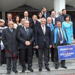 Preşedintele Senatului, Călin Popescu Tăriceanu, la Bistriţa. Ce le-a transmis primarilor PLR (FOTO)